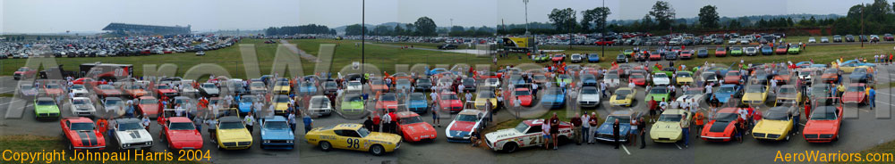 [2004 Aero Warrior Reunion Panoramic Photo]