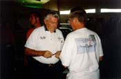 [Bobby Allison with Joe Machado]