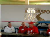 [Bobby Allison, Larry Rathgeb, Charlie   Glotzbach and George Wallace]