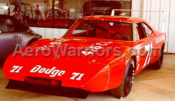 [#71 Racing Dodge Charger Daytona, Photographed From The Left Front]