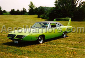 [Limelight Green Hemi SuperBird - Near The Chelsea Proving Grounds, June, 1996]